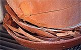 Frostempfindliche Terracotta schützen.