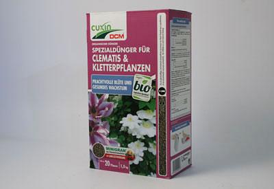 Clematis-Dünger