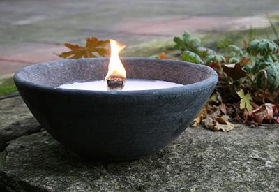 Kerzen-Lampe