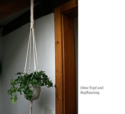 Topf-Aufhängung
